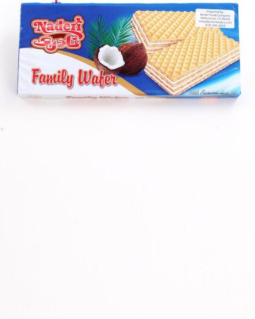 Naderi Family Wafer Coconut Flavor