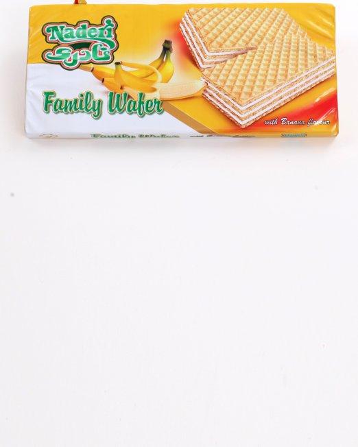 Naderi Family Wafer Banana Flavor