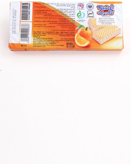 Naderi Family Wafer Orange Flavor