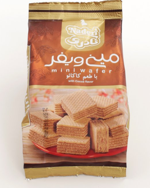 Naderi Mini Wafer with Cocoa Flavor