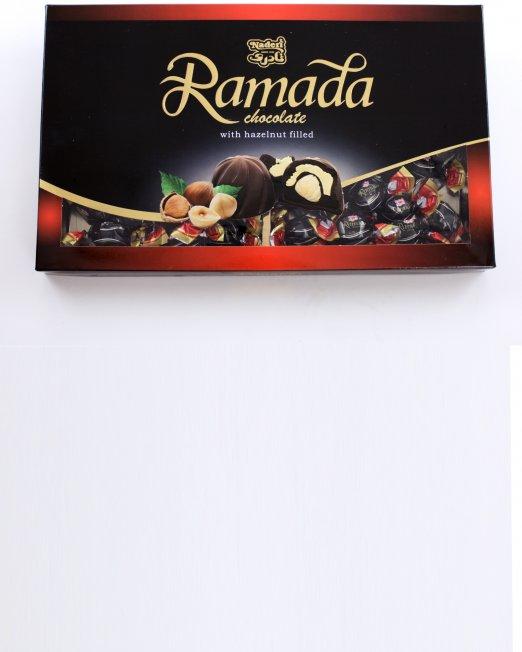 Naderi Ramada Chocolate with Hazelnut filled box