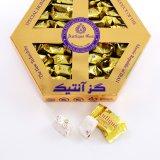 Antique Gaz Gold Hexagonal Box