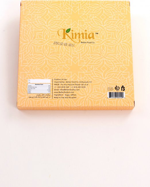Kimia Saffron Rock Candy