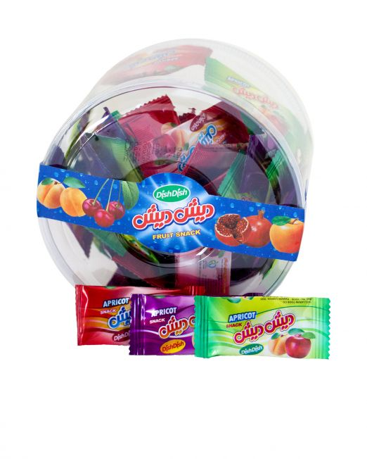 DishDish Fruit Rolls Bite Size Box-Medium