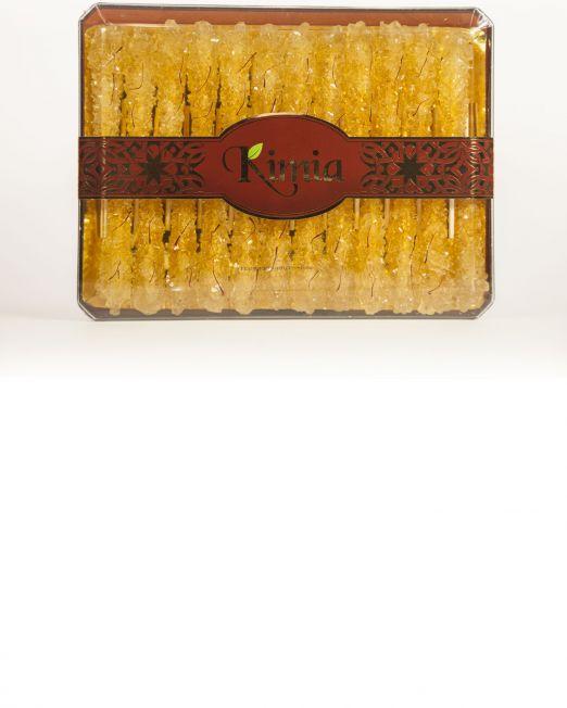 Kimia Saffron Rock Candy on Stick - 24