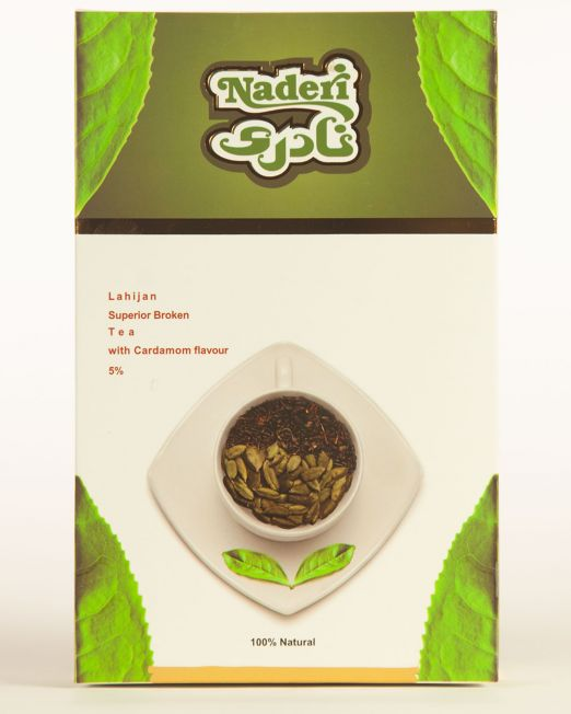 Lahijan Superior Loose Leaf Tea with Cardamom Flavor 5%